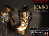 [Renegade] Domino Ankle Boots - Gold