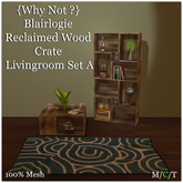 {Why Not } Blairlogie Reclaimed Wood Crate Livingroom Set A-Box