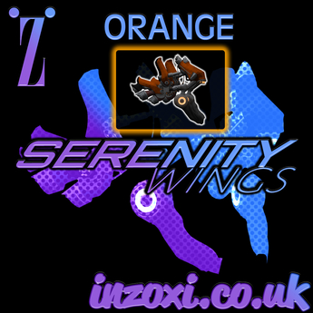 [inZoxi] - Serenity Wings ORANGE