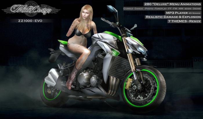 MotoDesign - ZZ1000 - 7 THEMES - EVO