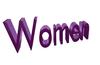 3D women font mesh (Copy, Modify yes)