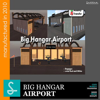 Big Hangar REF43  - Sad design (boxed)