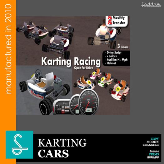 Pack 4 Karting - Racing