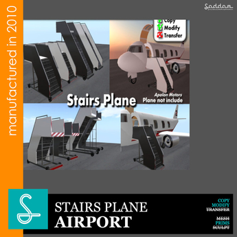Stair Plane - Airport