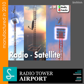 Radio tower - Airport