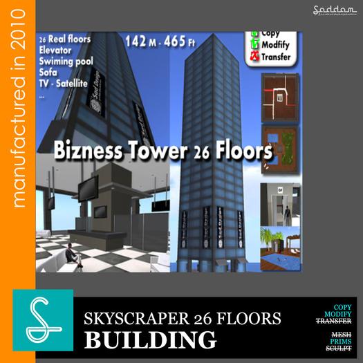 Bizness Tower 26F - Skyscraper