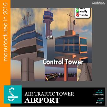 Air traffic tower - Airport