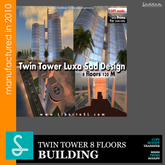 Twin Tower SadDesign Luxa REF09 (boxed)