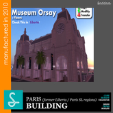 Museum Orsay Sad Design REF44 (boxed)