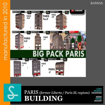 Paris Pack 2010 - Building