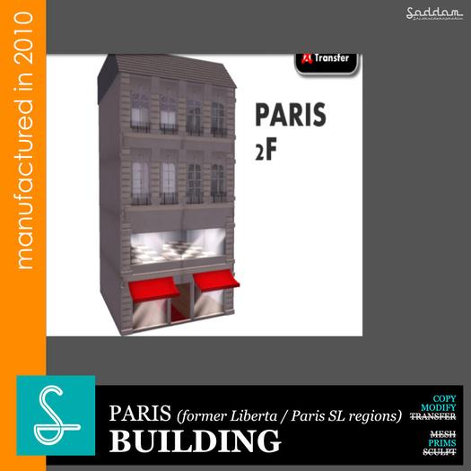 Paris 2F01 (2010) - Building