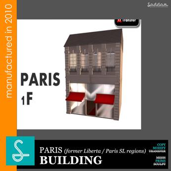 Paris 1F01 (2010) - Building