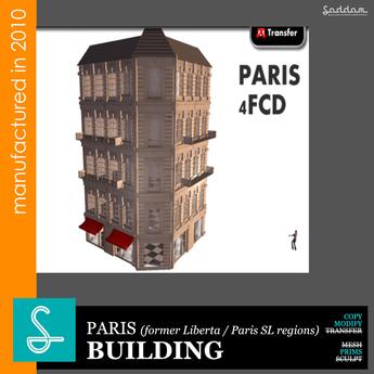 Paris 4FCD01 - Prefab Design (boxed)