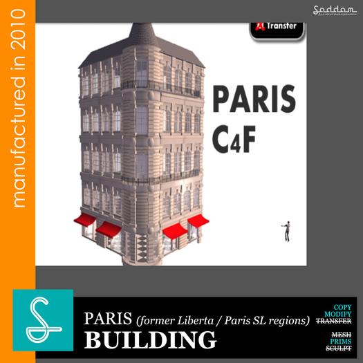 Paris C401 (2010) - Building