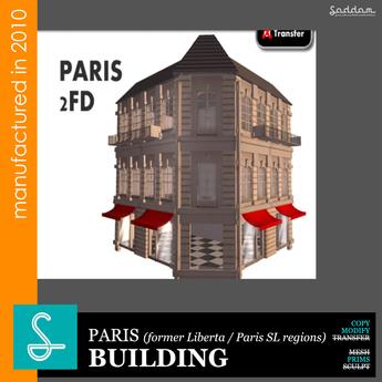 Paris 2FD01 (2010) - Building