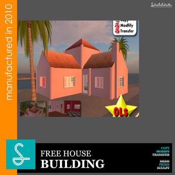 FreeBie-01 House - Prefab Design R (boxed)
