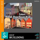 Prefab Brick 31P -Sad Design REF36 (boxed)