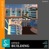 Prefab Office Blue - Building