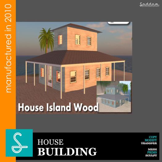 House Island Wood - Building