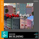 BIG PACK PREFAB town  Sad Design REF19 (boxed)