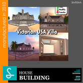 Victorian USA house - Building