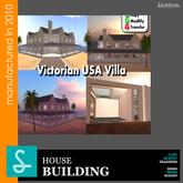Victorian USA house Sad - REF39(boxed)