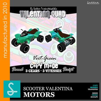 Quad Valentina green - Motors