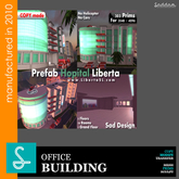 Prefab Hopital Liberta - SadDesign (Boxed)
