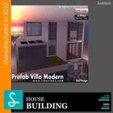 Prefab Modern  Villa REF15 - SadDesign (Boxed)