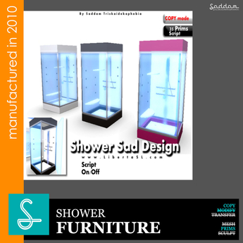 Shower 3 colors - Furniture
