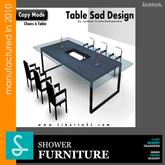 Table Diner- Sad Design Fournitures (Boxed)