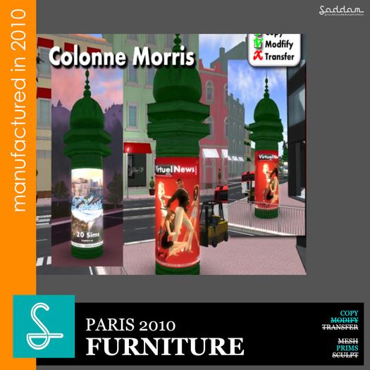 Colonne Morris - Furniture