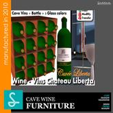 Wine Cave Vins Chateau Liberta Sad  Design (boxed)