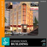 Corner Town Brown REF11 - SadDesign (Boxed)