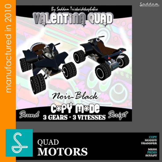 Quad Valentina black - Motors