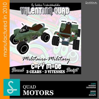 Quad Valentina military camo - Motors