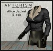 !APHORISM! - Alice Jacket Black