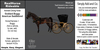 *E* RealHorse Rideable - Saddlebred Goddard Buggy [Add & Click]