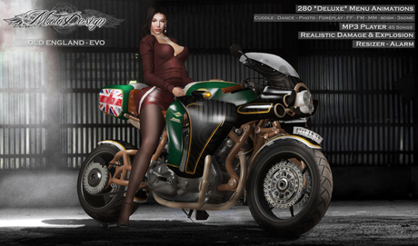 MotoDesign - Old England - EVO
