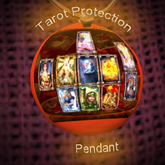 CORONAVIRUS-Covid 19 Tarot Protection Pendant-Spell