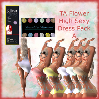 TA Flower High Sexy Dress Pack A