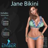 EMBER Jane Bikini  (Wear to Unpack)