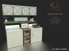 Barley - Portland Set - Full Set