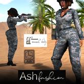 ASH Fashion : tracksuit: camouflage
