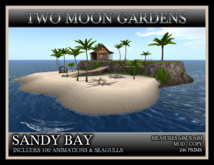 TMG - SANDY BAY* Beach landscape with 100 animations