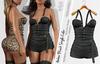 AMBER FEMALE BLACK OVERALL - MESH - MAITREYA - BELLEZA FREYA - LEGACY - FashionNatic