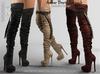 FashionNatic - Amber Boots Fatpack - Maitreya Lara, Belleza Freya, Legacy