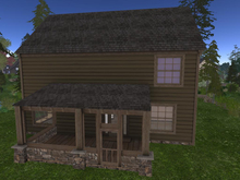 LH - Log Home - Overlook - screened porch insert MP1