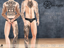 "Annubis man tattoo ""Add me, please"""