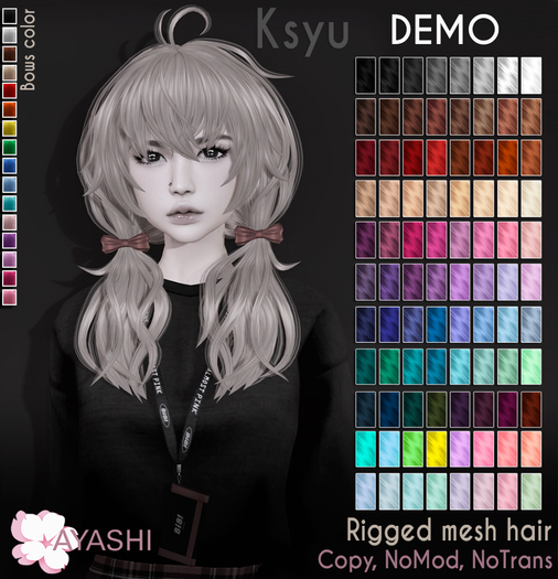 [^.^Ayashi^.^] Ksyu hair-DEMO